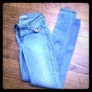 Women's skinny Levi jeans 535s